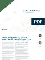 Expat Insider 2017 - The InterNations Survey