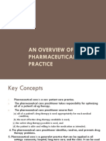 An Overview of Pharmaceutical Care Practice