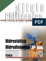 7401 15 FISICA Hidrostática Hidrodinámica