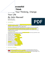 How Successful People Think John Maxwell