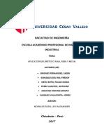 APLICACION DEL METODO RULA, REBA Y NIOSH.docx
