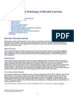 Benefits and Challenges of Blended Learning