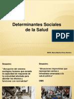 Determinantes Sociales y Desastres