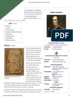 Rafael Urdaneta - Wikipedia, La Enciclopedia Libre