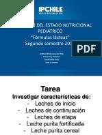 8° Clase fórmulas lacteas