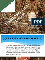 Periodo Barroco y Clasico