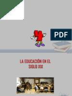 Educacion en El Siglo Xix - Ppt
