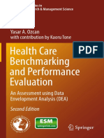 Yasar a. Ozcan Auth. Health Care Benchmarking and Performance Evaluation an Assessment Using Data Envelopment Analysis DEA