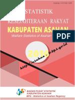 Statistik Kesejahteraan Rakyat Kabupaten Asahan 2016sssss