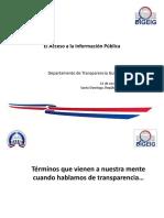 El Acceso a La Información Pública - DIGEIG