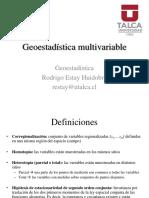 10. Geostadística Multivariable