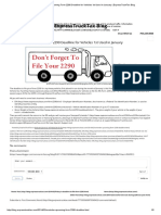Reminder - Upcoming Form 2290 Deadline for Vehicles 1st Used in January _ ExpressTruckTax Blog