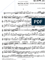 Feld Sonata for Flute and Piano