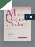 Tom Bottomore Marxist Düşünce Sözlüğü İletişim Yayınları