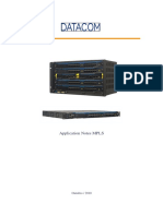 DATACOM - Application Notes MPLS