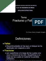 Fracturas-Fallas