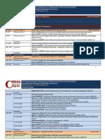 Programme CMSS17 2