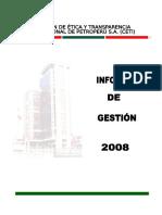 Informe Gestion Ceti 2008