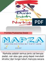 Penyuluhan NAPZA di Sekolah
