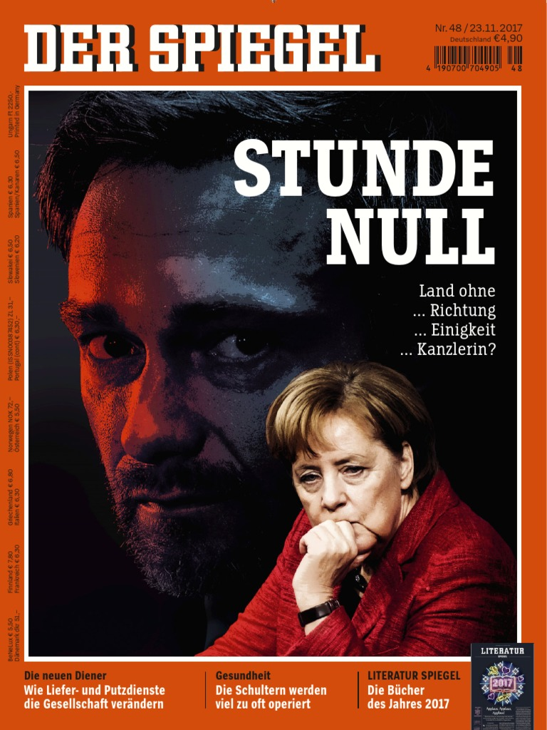 Der Spiegel Magazin No 48 Vom 23. November 2017
