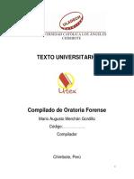 ORATORIA FORENSE - ULADECH