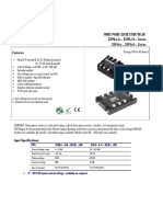 Satronix Three Phase Solid State Relay High Voltage