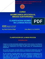 8-Clasificacion Geomecanica de La Masa Rocosa
