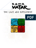 Avatar the Last d20 Supplement (MAIN SOURCE)