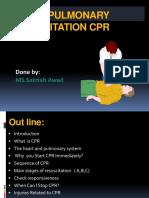 Cardiopulmonary Resuscitation presentation