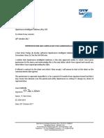 OIS Letter of Permission
