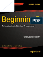 Dr. Joshua F. Wiley, Larry a. Pace (Auth.)-Beginning R_ an Introduction to Statistical Programming-Apress (2015)