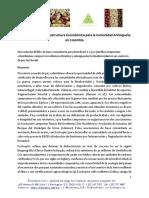 Proyecto REDD+ Infraestructura ecosistémica para la comunidad Antioqueña en Colombia