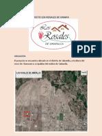 Proyecto Los Rosales de Umapalca PDF