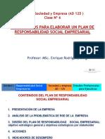 Clase 6 Lineamientos Para Elaborar Un Plan de RSE