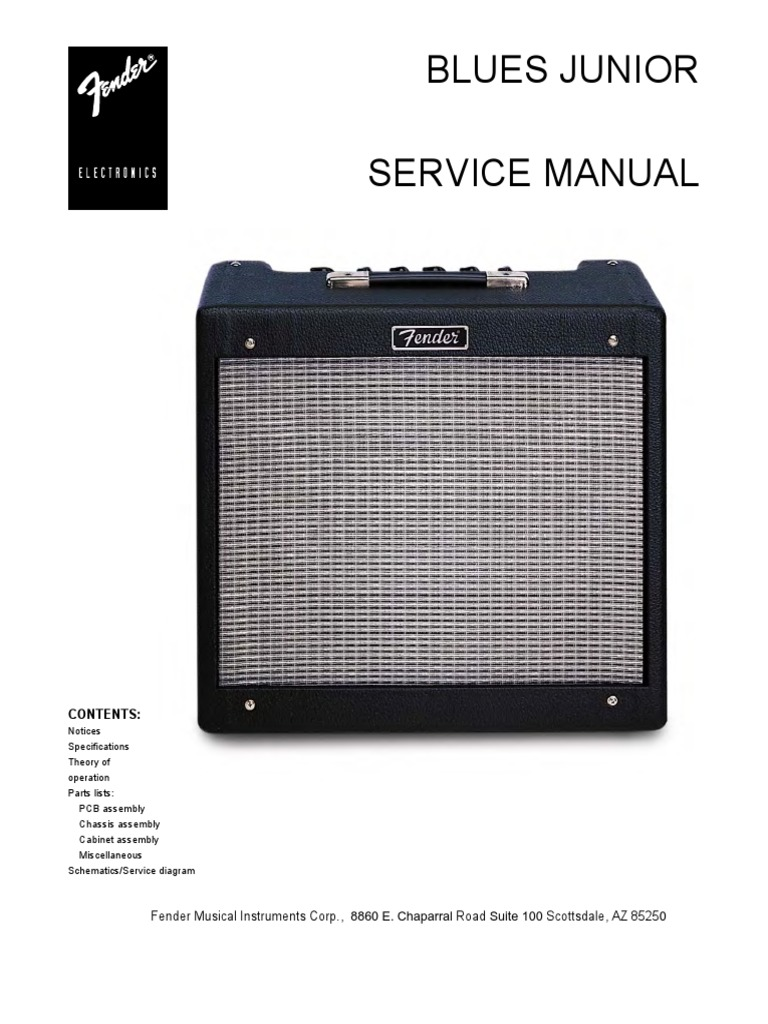 fender blues junior pr 295 service manual pdf rh scribd com Service ManualsOnline Customer Service Books
