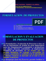 1. Formulacion de Proyectos