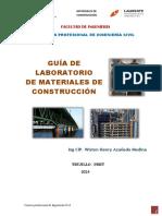 Guia Prácticas Lab. Materiales de Construcción