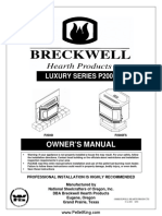 Breckwell P2000 Pellet Stove Manual