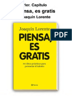 Piensa Es Gratis Joaquin Lorente