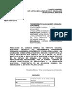 CGor201611 16 Rp 11 6 Afiliacion Indebida PRI