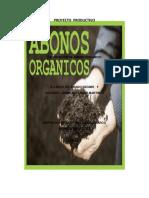 plan de negocios Proyecto Productivo Abono Organico