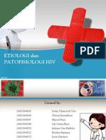 Etiologi & Patofisiologi HIV