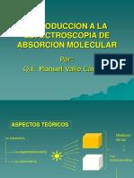 Introduccion a La Espectroscopia de Absorcion Molecular