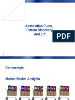 2017 10 12 - Association Rules & Lift