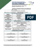 Fichas de Inscripción Estudiantes Sistema Tecnología IOT