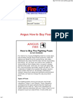 How to Buy Fire Fighting Foam