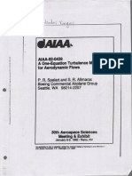 AIAA-92-0439_A One-Equation Turbulence Model for Aerodynamic Flows