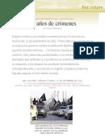 15 años de crímenes, por Thierry Meyssan