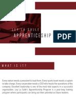 Apprenticeship Primer