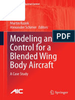 Modeling and Control for a Blended Wing Body Aircraft